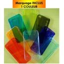 COQUE TRANSLUCIDE POUR IPHONE 4 PUBLICITAIRE