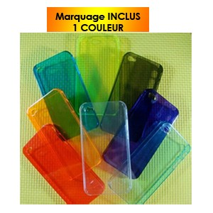 COQUE  IPHONE 4 TRANSLUCIDE ROXANE PUBLICITAIRE