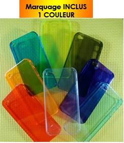 COQUE  IPHONE 4 TRANSLUCIDE ROXANE