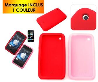 COQUE POUR IPHONE 3G ROSALIE