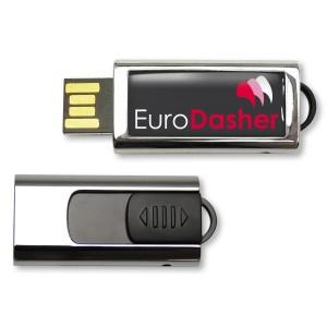 CLE USB QUADRI SLIDE PUBLICITAIRE