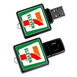CLE USB MINI QUADRI AUSTIN PUBLICITAIRE
