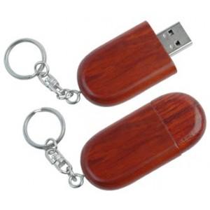 CLE USB EN BOIS MARJOLAINE PUBLICITAIRE
