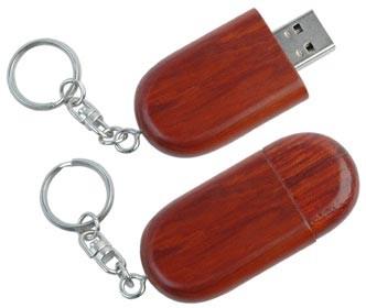 CLE USB EN BOIS MARJOLAINE