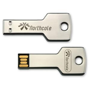 CLE USB QUADRI METAL KEY PUBLICITAIRE