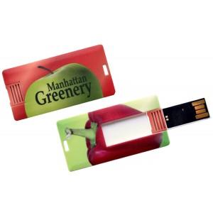 CLE USB QUADRI CARTE DE CREDIT MINI CARD PUBLICITAIRE