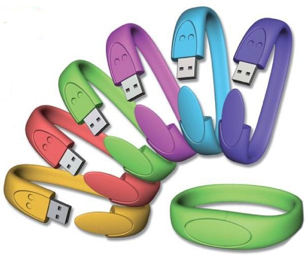 CLE USB BRACELET SILICONE VICO