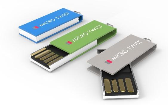 CLE USB QUADRI MICRO TWIST