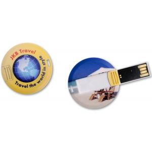 CLE USB QUADRI COIN CARD PUBLICITAIRE
