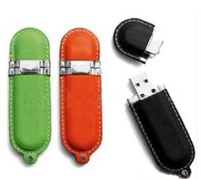 CLE USB SIMILI CUIR DALLAS