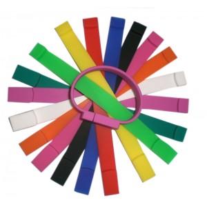 CLE USB BRACELET SILICONE CAURO PUBLICITAIRE