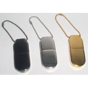 CLE USB ULTRA FINE METAL GOLDEN PUBLICITAIRE