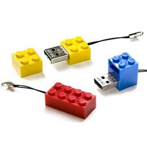 CLE USB BRIQUE PUBLICITAIRE
