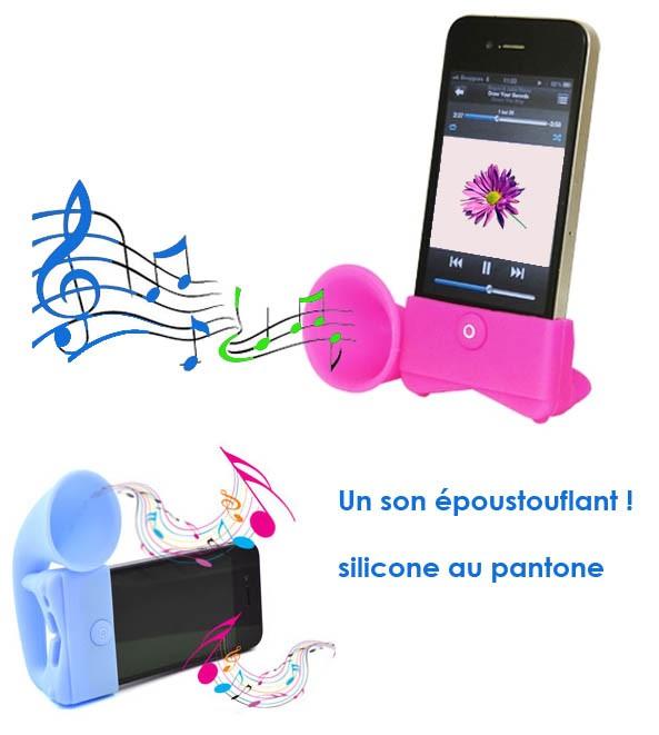 HAUT PARLEUR POUR IPHONE HORN