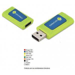 CLE USB RETRACTABLE GRANBY PUBLICITAIRE