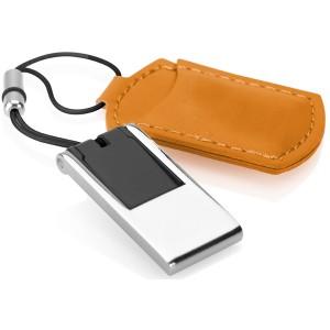 MINI CLE USB AVEC ETUI SIMILI CUIR PUBLICITAIRE
