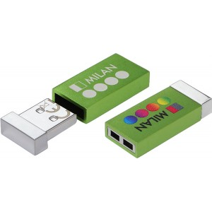 CLE USB MINI QUADRI MILAN PUBLICITAIRE