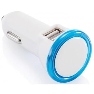 CHARGEUR DE VOITURE 2 PORTS USB HUGO PUBLICITAIRE