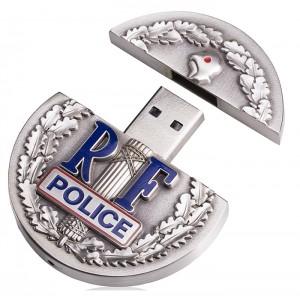 CLE USB METAL SUR MESURE RIVER PUBLICITAIRE