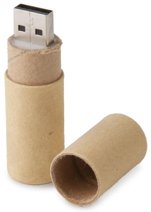 CLE USB TUBE EN CARTON
