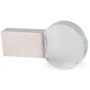 CLE USB METAL ET VERRE ASTOR PUBLICITAIRE