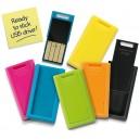 CLE USB STICK PRET A COLLER PUBLICITAIRE