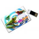 CLE USB FORME CARTE DE CREDIT JETON TICKET PUBLICITAIRE
