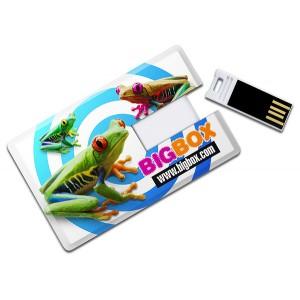 CLE USB  CARTE DE CREDIT SAUGE PUBLICITAIRE