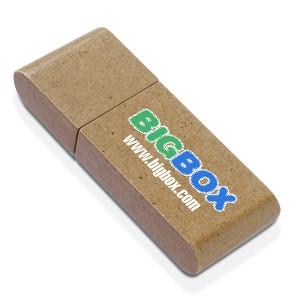 CLE USB EN BOIS PAPIER BAMBOU PUBLICITAIRE