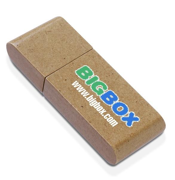 CLE USB EN BOIS PAPIER BAMBOU