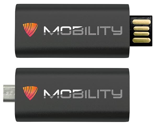 CLE USB QUADRI 2 CONNECTEURS