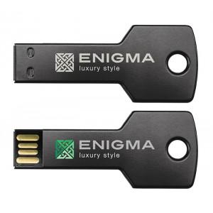 CLE USB QUADRI ALU KEY PUBLICITAIRE