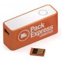 BATTERIE DE SECOURS AVEC CLE USB VERSA PUBLICITAIRE