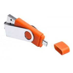 CLE USB OTG DEUX CONNECTEURS LEON PUBLICITAIRE