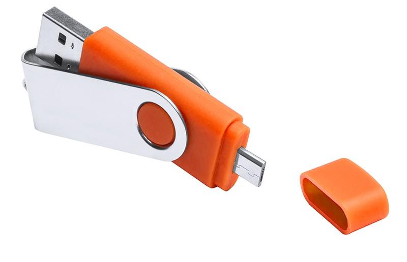 CLE USB OTG DEUX CONNECTEURS LEON