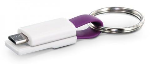 PORTE CLES CABLE DE CHARGE MICRO USB