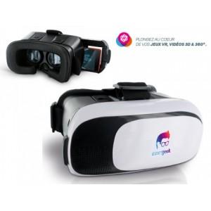 CASQUE LUNETTE REALITE VIRTUELLE 3D PUBLICITAIRE