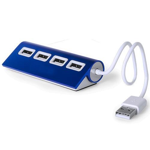 HUB AVEC 4 PORTS USB WEPER