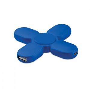 TOUPIE ANTI STRESS AVEC HUB USB 3 PORTS PUBLICITAIRE