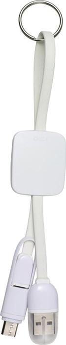 PORTE CLES CABLE DE CHARGE 3 PORTS USB TYPE C  SUZON