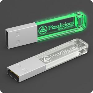 CLE USB LOGO LUMINEUX NAELLE PUBLICITAIRE