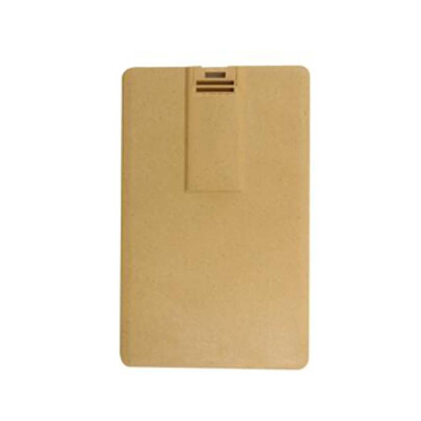 CLE USB CARTE DE CREDIT EN CARTON RECYCLE