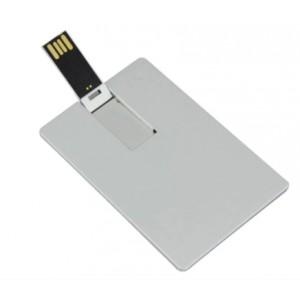 CLE USB CARTE DE CREDIT EN METAL PUBLICITAIRE